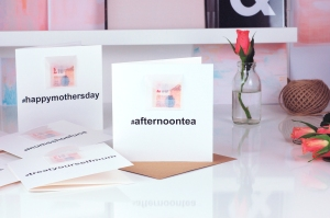 Mothers Day Hashtag cards