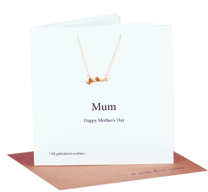 Mothers Day love birds Necklace Card co £19.95 www.madewithlovedesigns.co.uk